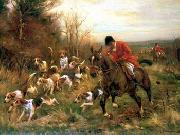 unknow artist Classical hunting fox, Equestrian and Beautiful Horses, 178. china oil painting reproduction