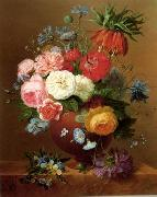 unknow artist Floral, beautiful classical still life of flowers.089 oil painting reproduction