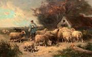 unknow artist Sheep 120 china oil painting reproduction