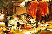 unknow artist Dog 032 china oil painting reproduction