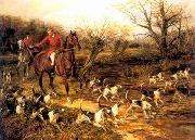 unknow artist Classical hunting fox, Equestrian and Beautiful Horses, 106. china oil painting reproduction