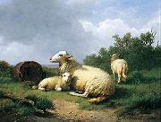 unknow artist Sheep 067 china oil painting reproduction