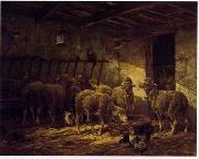 unknow artist Sheep 173 china oil painting reproduction