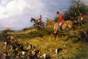 unknow artist Classical hunting fox, Equestrian and Beautiful Horses, 230. china oil painting reproduction