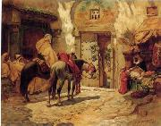 unknow artist Arab or Arabic people and life. Orientalism oil paintings  438 oil painting reproduction