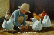 unknow artist Cock 184 china oil painting reproduction