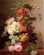 unknow artist Floral, beautiful classical still life of flowers.088 oil painting reproduction