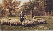 unknow artist Sheep 179 china oil painting reproduction