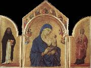 Duccio Virgin and Child oil on canvas
