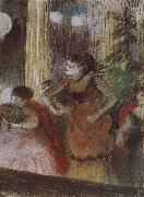 Edgar Degas Bete in the cafe oil painting reproduction