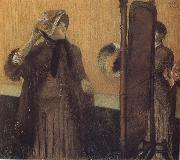 Edgar Degas In  the Store oil painting reproduction