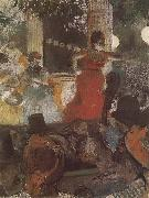 Edgar Degas The Concert in the cafe china oil painting artist