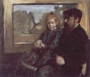 Edouard Manet Helene Rouart on her Father-s Knee painting