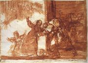 Francisco Goya Drawing for Poor folly oil painting reproduction