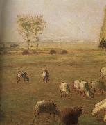 Jean Francois Millet Detail of  Spring,haymow china oil painting reproduction