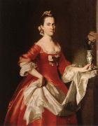 John Singleton Copley Lady oil painting reproduction
