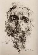 Nikolay Fechin Head portrait of old man painting