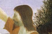 Piero della Francesca Detail of Baptism of Christ oil painting reproduction