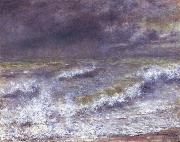 Pierre-Auguste Renoir Seascape oil painting reproduction