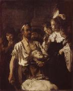 REMBRANDT Harmenszoon van Rijn The Beheading of John the Baptist china oil painting artist