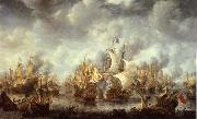 REMBRANDT Harmenszoon van Rijn The Battle of Ter Heide,10 August 1653 china oil painting artist