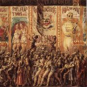 Reginald Marsh People oil