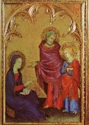 Simone Martini Christ Discovered in the Temple oil painting reproduction