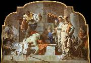 TIEPOLO, Giovanni Domenico The Beheading of John the Baptist china oil painting artist