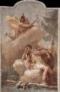 TIEPOLO, Giovanni Domenico Mercury Appearing to Aeneas oil painting reproduction