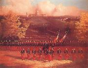 unknow artist The Army of the Potomac Marching up Pennsylvania Avenue,Washington china oil painting artist