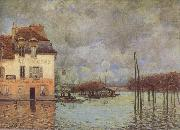 Alfred Sisley Fllod at Port-Marly oil painting reproduction