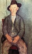 Amedeo Modigliani The Little Peasant oil painting reproduction