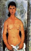 Amedeo Modigliani Standing nude oil painting reproduction
