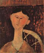 Amedeo Modigliani Portrait of Beatrice hastings oil painting reproduction