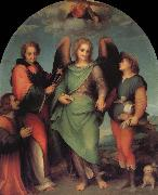 Andrea del Sarto Donor oil painting reproduction