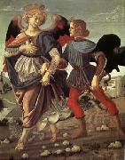 Andrea del Verrocchio Tobias and the Angel oil painting reproduction