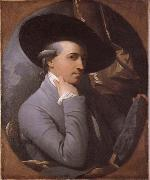 Benjamin West Sjalvportratt oil painting reproduction