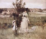 Berthe Morisot Hide and seek painting