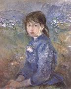 Berthe Morisot The Girl oil painting reproduction