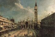 Canaletto Piazza San Marco oil painting reproduction