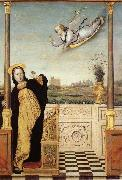 Carlo di Braccesco The Annunciation oil on canvas