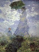 Claude Monet Woman with a Parasol oil painting reproduction