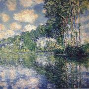 Claude Monet Poplars on the Banks of the Rive Epte oil painting reproduction