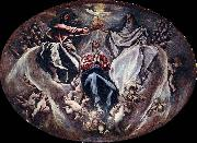 El Greco The Coronation of the Virgin oil painting reproduction