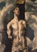 El Greco St Sebastian oil painting reproduction