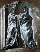 El Greco The Visitation oil painting reproduction
