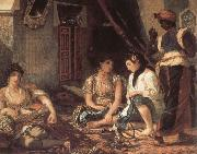 Eugene Delacroix The Women of Algiers china oil painting reproduction