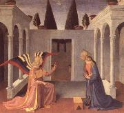Fra Angelico The Annunciation oil painting reproduction