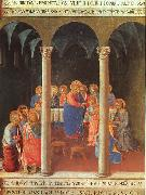 Fra Angelico Communion of the Apostles oil painting reproduction