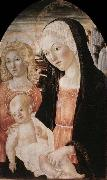Francesco di Giorgio Martini Madonna and Child with an Angel oil painting reproduction